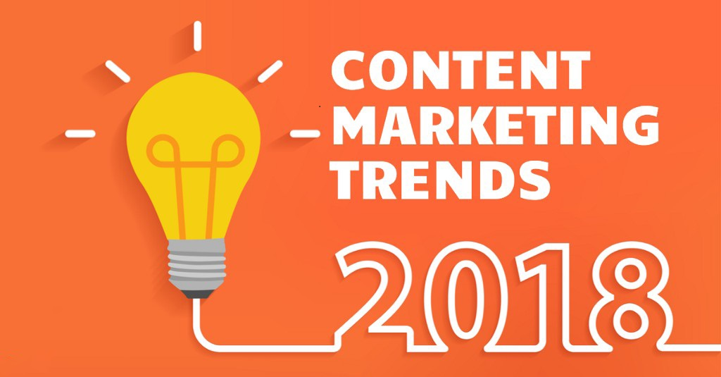 Content marketing Trends Dominating 2018