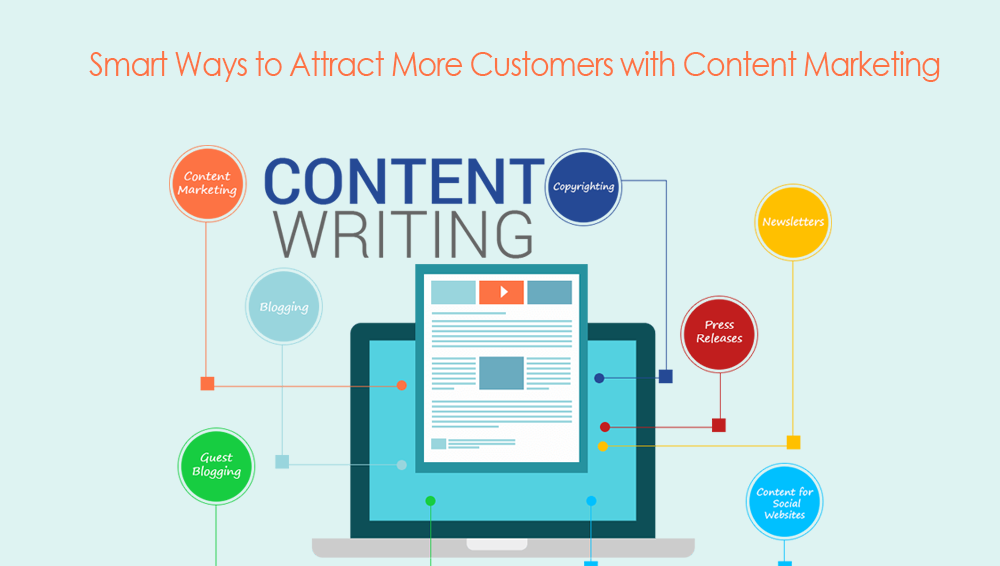 Creating content to attract more customers