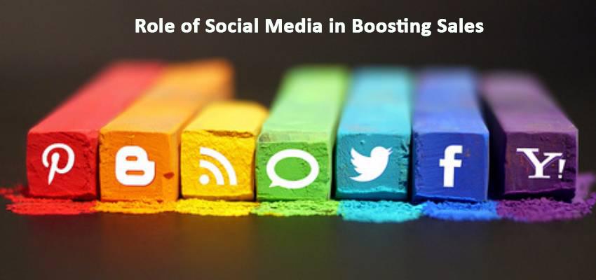 Boost Sales With Soacial Media.