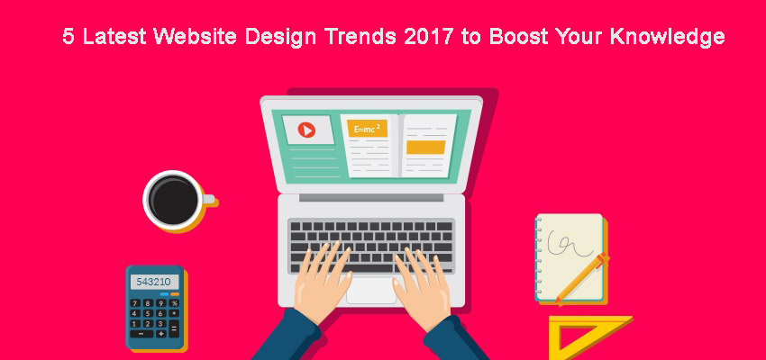 5 latest website trends